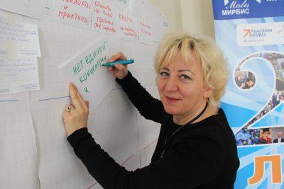 Специалист Фонда «Виктория» Наталия Тюшкевич