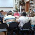 Благодаря финансовой поддержке ОМК пожилые люди поселка Новосинеглазовский посетят 12 семинаров по арт-терапии, в ходе которых освоят различные художественные техники.