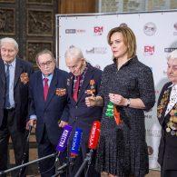 Среди приглашенных — участники битвы за Москву и Сталинград, а также Ленинградской и Курской битв, дети войны и узники концлагерей.