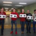 В спортивно-стрелковом тире ДЮСШ №1 работники БМК соревновались в стрельбе из малокалиберных винтовки и пистолета.